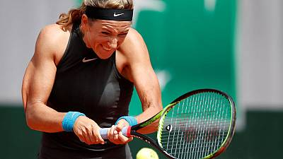Azarenka dumped out of French Open in first round