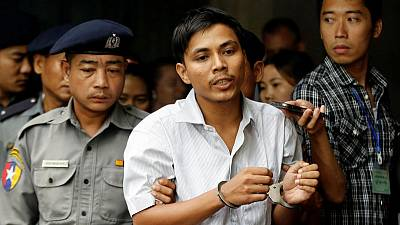 Myanmar defence lawyers say documents from Reuters reporters' phones 'not secret'