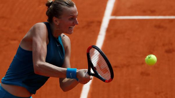 Tennis - Little-known Paraguayan pushes Kvitova to the edge