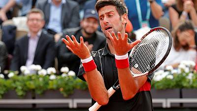 Beaten Djokovic says may he skip Wimbledon