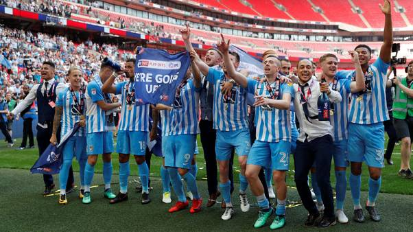 Coventry seal return to League One after playoff win over Exeter