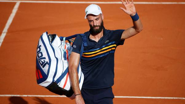 Paire falls short, but Nishikori faces another French test
