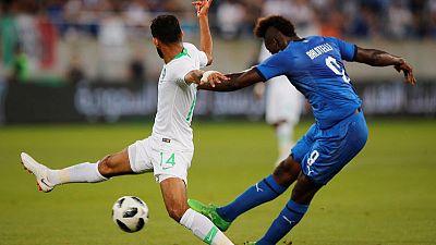 Balotelli scores on Italy return in win over Saudi Arabia