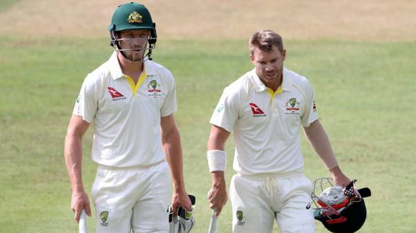 Banned Warner, Bancroft sign up for Northern Territory comp
