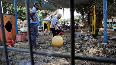 Gaza militants launch mortar bombs against Israel, no casualties