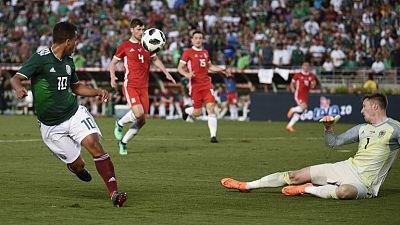 Soccer - Mexico fail to break down Wales