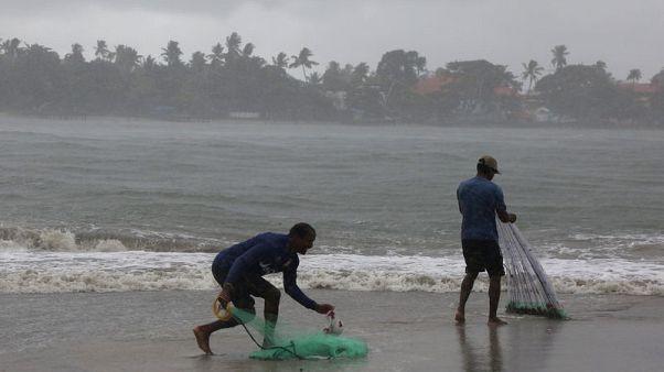 الأمطار الموسمية تصل ساحل ولاية كيرالا الهندية