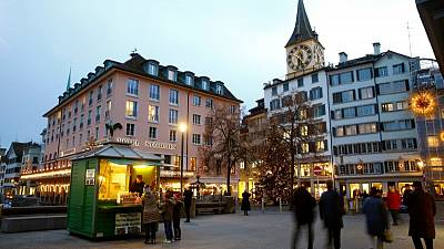 Zurich too pricey? Then try LA for affordability