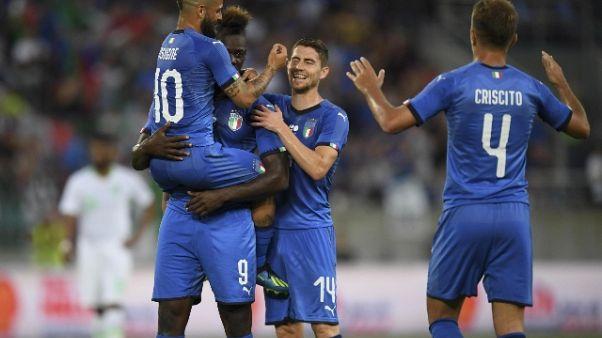 Balotelli dedica gol a Astori