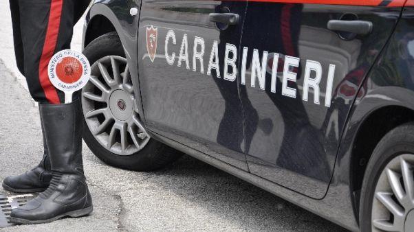 Maxi rissa, contusi due carabinieri