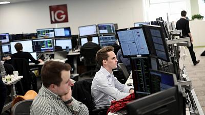 Financials drive FTSE 100 down as anxiety grips European investors