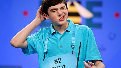 Language as extreme sport - Youngsters square off in U.S. spelling bee