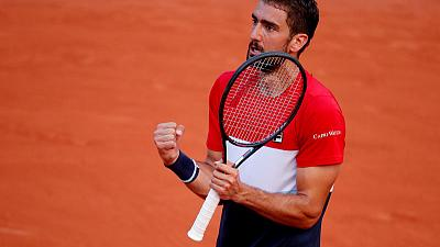Cilic stands firm to withstand Fognini fightback