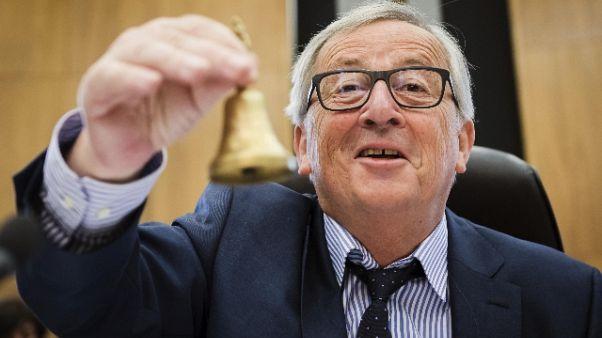 Portavoce Juncker,Oettinger sconsiderato