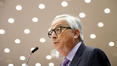 Amid political row, EU's Juncker says 'Italy deserves respect'
