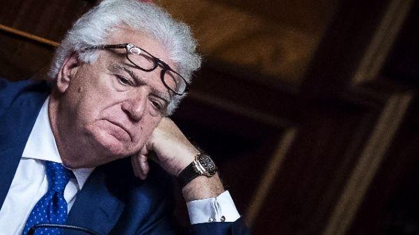 Ex Ccf: appello Verdini, cda patteggia