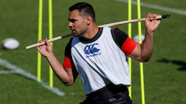 Centre Te'o ruled out of England's South Africa tour