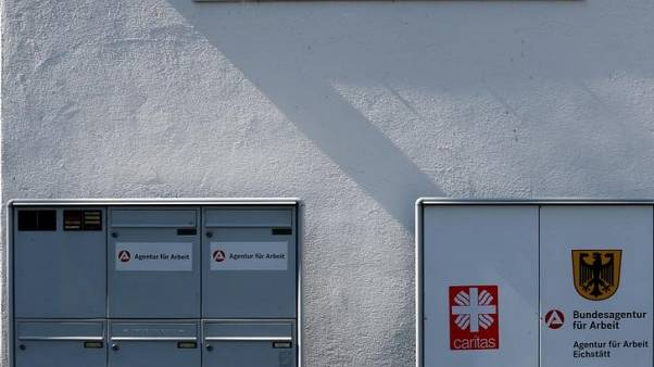 German jobless rate hits record low in May