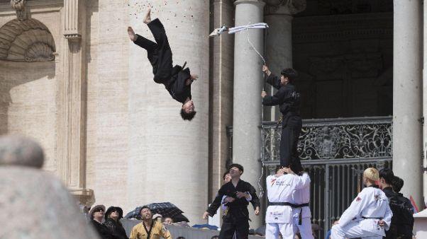 Taekwondo, da Papa solo atleti Corea Sud