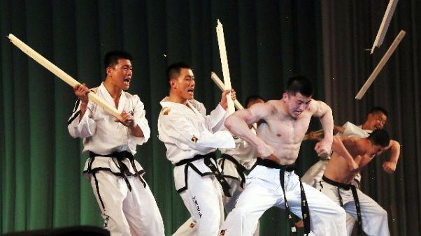 Grand Prix taekwondo,Pietrangeli coperto
