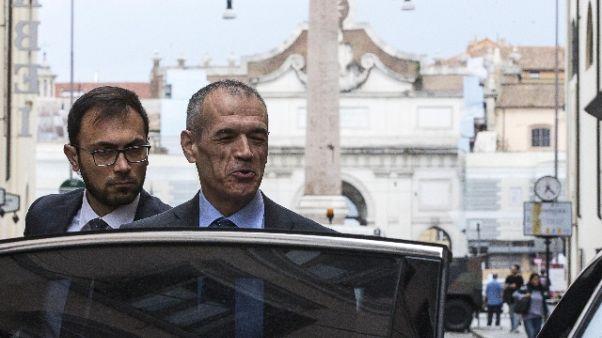 Governo: Di Maio e Cottarelli al Colle