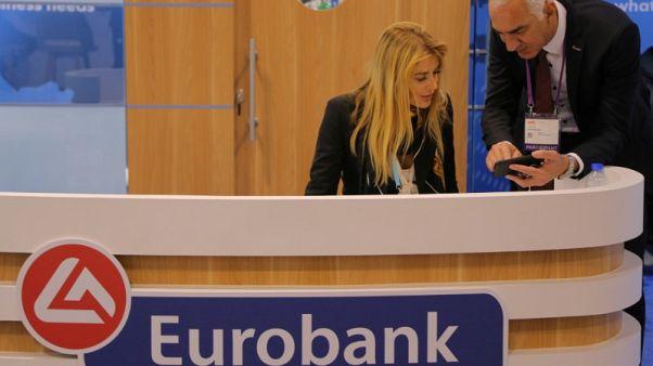 Lower core income squeezes Greek lender Eurobank's profit