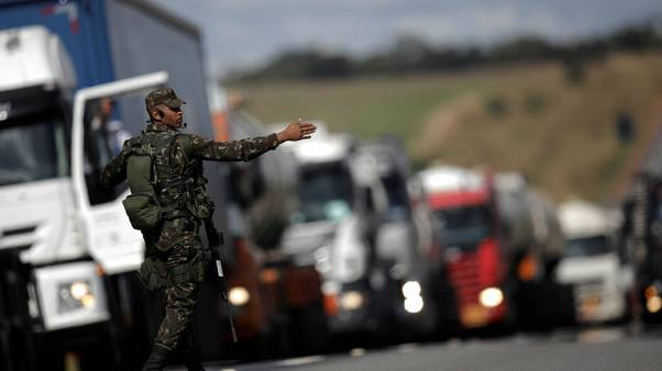 Brazil police say highway traffic has returned to normal