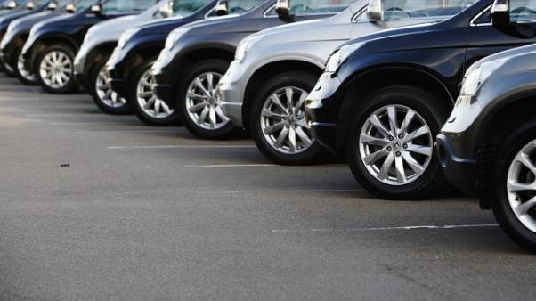 UK car sales up nearly three percent in May, preliminary data shows