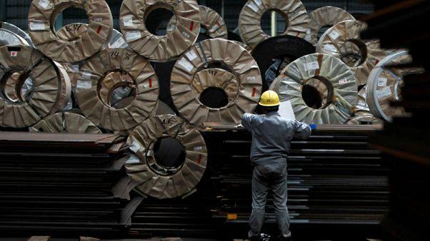 Japan's factory output growth slumps in April, dims production prospects