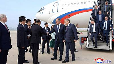 Russia's Lavrov invites North Korea's Kim to Russia - foreign ministry