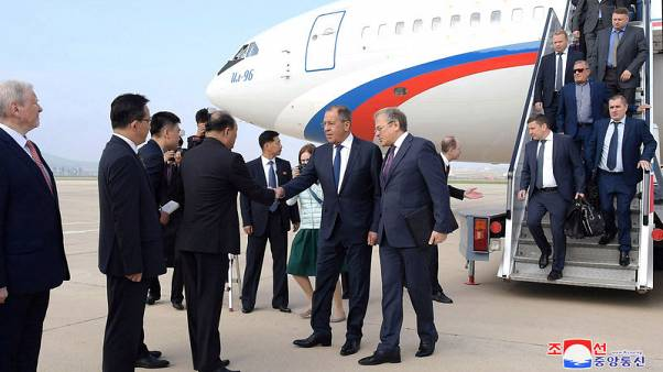 Russia's Lavrov invites North Korea's Kim to Russia - foreign ministry