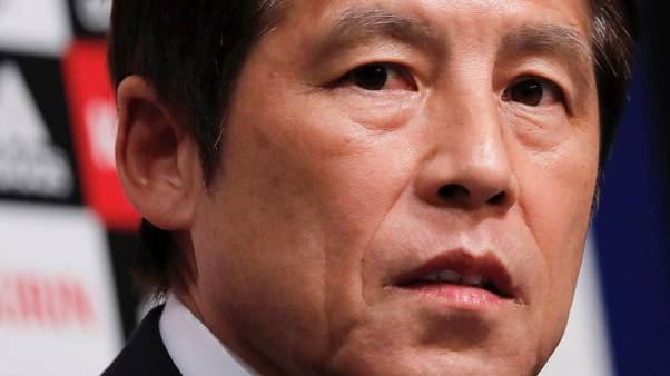 Football - Nishino opts for experienced Japan squad for World Cup