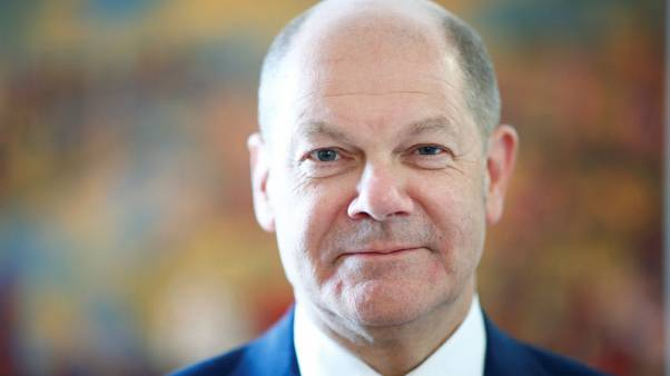 Germany's Scholz keeps distance from Macron's euro zone budget