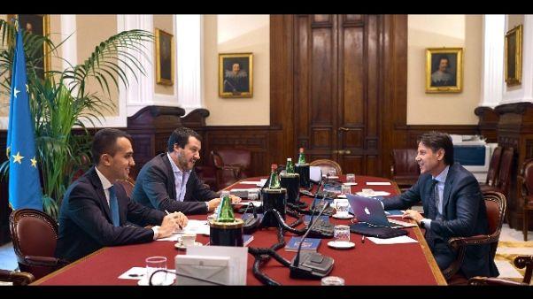 Governo: al via incontro Salvini-Di Maio