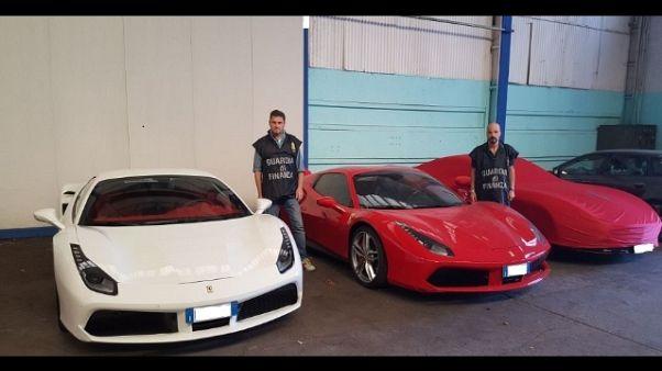 Senza reddito ma con Ferrari, confisca
