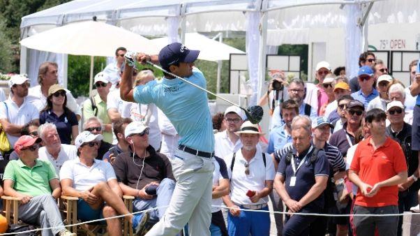 Golf: Open Italia, riprende gara