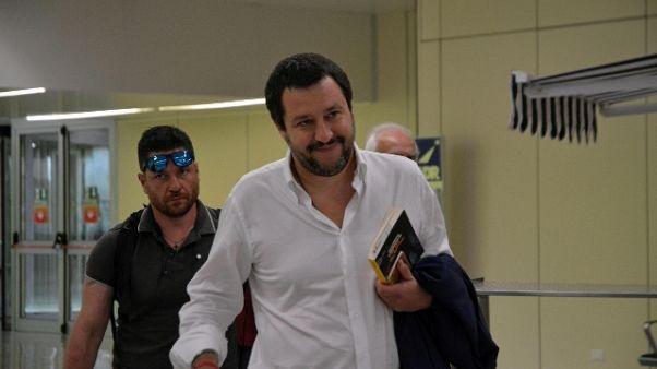 Governo: Salvini, ultime ore di lavoro