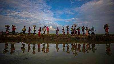 Safety and 'identity' key for Rohingya returnees - U.N. chief in Myanmar