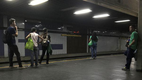 Lacking tickets, Venezuela's Caracas metro gives free rides