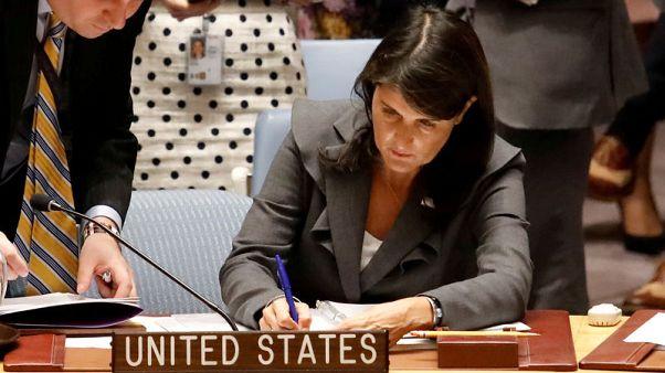 أمريكا تستخدم حق النقض ضد قرار دولي يندد بالعنف ضد الفلسطينيين