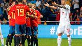 اسبانيا تفرط في تقدمها ضد سويسرا بعد خطأ من دي خيا