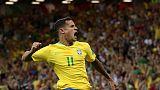 هدف كوتينيو الرائع لا يكفي البرازيل في تعادلها مع سويسرا