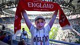 Mondial-2018: petite présence mais accueil chaleureux pour les fans anglais à Volgograd