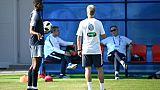 Mondial-2018: Pogba énervé, Griezmann ménagé à l'entraînement