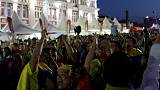 Colombians bring salsa spirit to staid Saransk