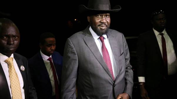رئيس جنوب السودان يجتمع مع زعيم المتمردين لإجراء محادثات سلام
