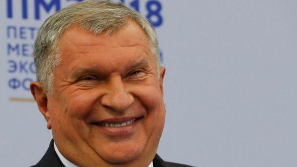رئيس روسنفت يلمح فرصة لزيادة حصة شركته من سوق النفط العالمية