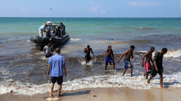 خفر السواحل الليبي ينقذ 443 مهاجرا كانوا في طريقهم لأوروبا