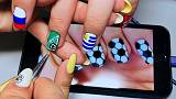 Manicures in World Cup designs hit the nail on the head