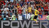 Belgium outclass Tunisia but defence is a concern